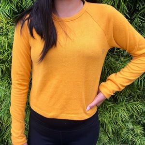 Pacsun Mustard Yellow Long Sleeve Top!